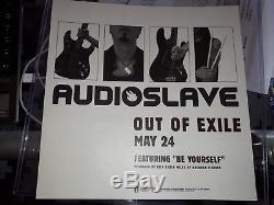 CHRIS CORNELL Audioslave SIGNED Album Flat PSA/DNA COA