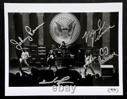 CJ JOEY JOHNNY MARKY RAMONE Original RAMONES Signed AUTOGRAPH Photo PSA/DNA COA