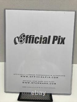 Carrie Fisher Signed 8x10 Celebration Japan PSA/DNA & OPX COA STAR WARS 2008