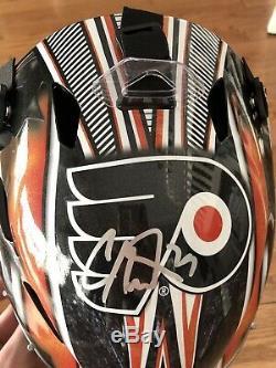 Carter Hart Signed Full Size Goalie Mask PSA/DNA COA #79 Philadelphia Flyers NHL
