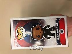 Chadwick Boseman Signed Black Panther Unmasked Funko 138 Psa Dna Coa Rare