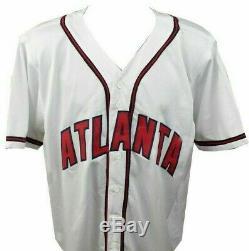Chipper Jones Atlanta Braves Auto Autographed Signed Baseball Jersey PSA/DNA COA
