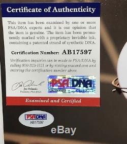 Chris Cornell Soundgarden signed photo 11x14 inch autographed psa dna coa