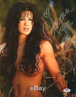Chyna Signed WWE Playboy 11x14 Photo PSA/DNA COA Wrestling Picture Autograph 13