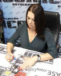 Chyna Signed WWE WWF October 1998 RAW Magazine PSA/DNA COA DX Photo Autograph 98