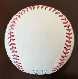 Clayton Kershaw Single Signed OML Baseball Auto Los Angeles Dodgers PSA/DNA COA