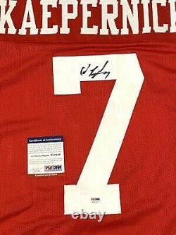 Colin Kaepernick Signed Autograph San Francisco 49ers Custom Jersey PSA/DNA COA