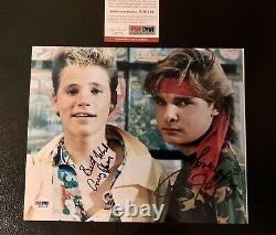 Corey Haim & Corey Feldman PSA/DNA Signed Photo COA The Lost Boys Autograph