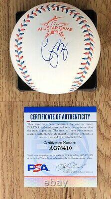 Corey Seager Signed 2017 All Star Baseball LA Dodgers Autograph PSA/DNA COA