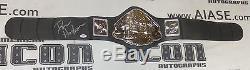 Dan Henderson Signed Pride FC Toy Championship Belt PSA/DNA COA Autograph UFC 33