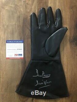 Dave Prowse Autographed Darth Vader Glove Prop Signed Star Wars Psa/dna Coa