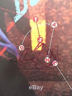 David Bowie Signed'lets Dance' Album Cover Autograph Psa/dna Coa
