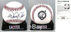 Derek Jeter New York Yankees Signed Retirement Baseball PSA/DNA COA