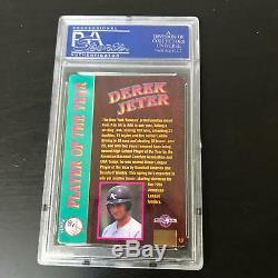 Derek Jeter Signed 1995 Action Packed New York Yankees RC Rookie PSA DNA COA