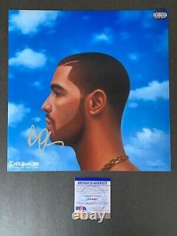 Drake Signed Autographed Nothing Was the Same Album Photo with PSA/DNA COA