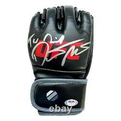 Dustin Poirier Hand Signed Official UFC Glove Autograph PSA/DNA COA Signed