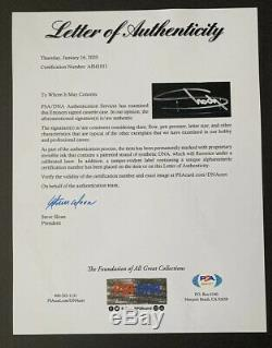 EMINEM Signed SSLP20 CHROME CASSETTE AUTO Only 99 Sold Out PSA/DNA COA #AH41011