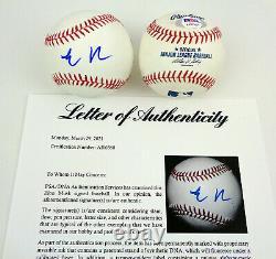 Elon Musk SpaceX Tesla Signed Autograph MLB Baseball PSA/DNA COA