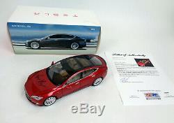 Elon Musk SpaceX Tesla Signed Autograph Model S Diecast Car PSA/DNA COA
