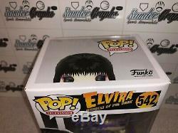 Elvira Cassandra Peterson Signed Autographed Funko Pop-psa Dna Coa Mistress Insc