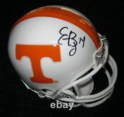 Eric Berry Signed Tennessee Vols Mini Helmet Autograph Psa/dna Coa