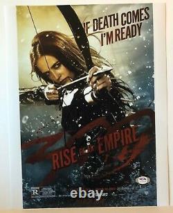 Eva Green Signed 11x14 Photo (300 Rise, Sin City, Casino Royale) Psa Dna Coa