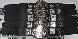 Fedor Emelianenko Signed Pride Toy Championship Belt PSA/DNA COA Autograph UFC