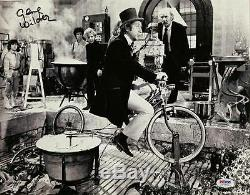 GENE WILDER Signed WILLY WONKA 11x14 Photo #10 Autograph with PSA/DNA COA