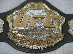 GEORGE'RUSH' ST PIERRE GSP UFC Hand Signed JAKKS Belt + PSA DNA COA