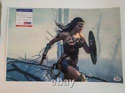 Gal Gadot Wonder Woman Autographed 12 X 18 Photo With PSA/ DNA COA