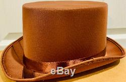 Gene Wilder Signed Willy Wonka Hat Auto PSA DNA COA Witness