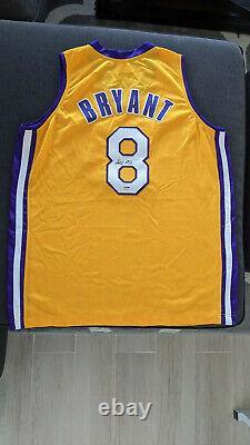 Genuine Kobe Bryant Signed #8 Lakers Nike Jersey Rookie Autograph Psa Dna Coa