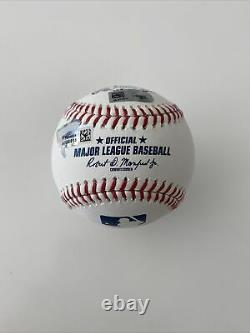 Giancarlo Stanton Signed Baseball PSA/DNA Fanatics ROMLB Triple COA Autograph