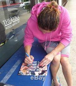 Gina Carano & Cris Cyborg Signed StrikeForce 8x10 Photo PSA/DNA COA Auto'd UFC