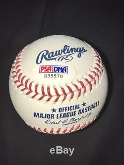 Gleyber Torres New York Yankees Autographed MLB Baseball PSA/DNA COA