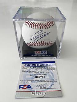 Gleyber Torres Signed Baseball ROMLB PSA/DNA & JSA COA Autograph ball