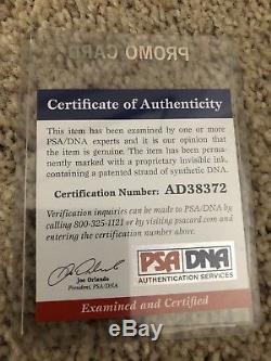 Greg Moore Autographed Framed Photo! PSA/DNA COA