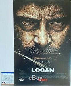 HUGH JACKMAN SIGNED LOGAN X-MEN 12X18 POSTER PHOTO WithEXACT PROOF WithCOA PSA/DNA