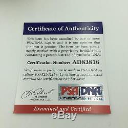 Hank Aaron Signed Official National League Baseball With PSA DNA COA