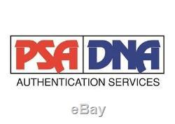 Hanshi Frank Dux Signed Bloodsport Black Belt PSA/DNA COA Martial Arts Kumite