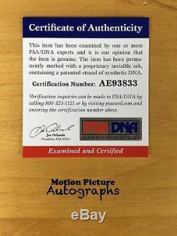 Hugh Jackman Signed 11x14 Photo Psa Dna Coa Autograph Logan Wolverine