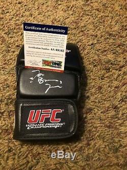 JON BONES JONES Signed AUTOGRAPHED MMC UFC GLOVE PSA DNA COA AUTHENTICS