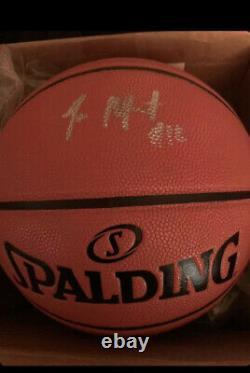 Ja Morant Memphis Grizzlies Signed Autographed Basketball ROY PSA/DNA COA