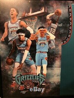 Ja Morant Signed Jersey Framed PSA/DNA LOA COA Memphis Grizzlies Rare! Roy