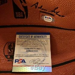 Jalen Green Signed Spalding Rep Basketball 2021 #1 Pick Autographed PSA DNA COA