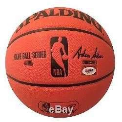 James Harden Houston Rockets Autographed NBA MVP Signed Basketball PSA DNA COA