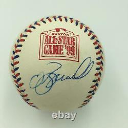 Jeff Bagwell Signed Autographed 1999 All Star Game Baseball PSA DNA COA