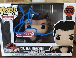 Jeff Goldblum Signed Dr Ian Malcom Funko Pop Target Exclusive Error psa/dna coa