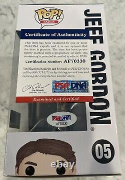 Jeff Gordon Signed Auto Autograph NASCAR Funko Pop Toy Figure PSA/DNA COA