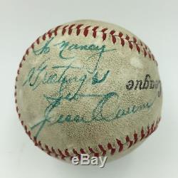 Jesse Owens Single Signed Autographed Baseball PSA DNA COA 1936 Olympics Hero